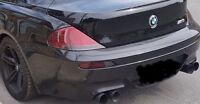 Muffler DINAN all black pour bmw M6