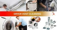 Professional dryer vent cleaning $50