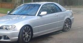 Bmw E46 removable hard top silver