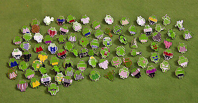 Limited Edition MWC Android Pin badge WHOLE SET of 65pcs Rare Find in Shop