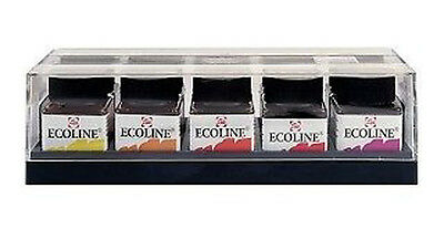 Talens Ecoline Liquid Artists Watercolour Drawing Ink Set 10 x 30ml
