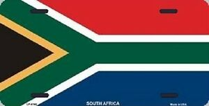 Aluminum National Flag South Africa