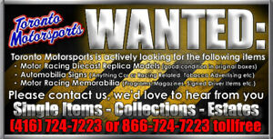 Auto racing and Automotive Memorabilia and Diecast & Programs