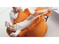 Fama reclining swivel moonchair