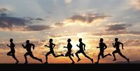 Learn to run. Monday's and Wednesday's.