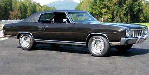 WANTED!!! 1970-1972 CHEVY MONTE CARLO