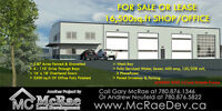16,500 sqft SHOP FOR SALE OR LEASE