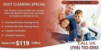 Air Duct Cleaning Services ( Fall Special Promotion )