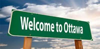 ***6PM TODAY (FRIDAY) &  SUNDAY***TORONTO TO OTTAWA***