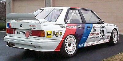 BMW M3 E30 - Motorsport Teilekatalog - Gruppe A / DTM - Parts Catalogue