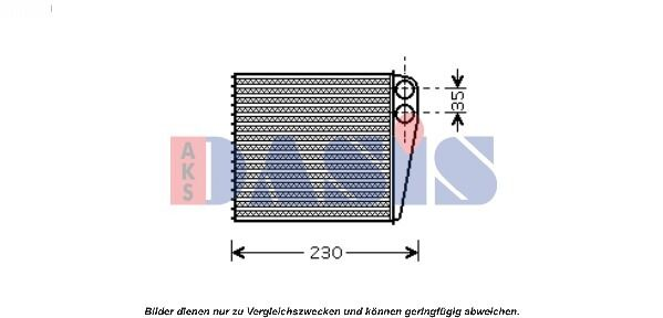Heat exchanger Interior heating Heating cooler Heater VW Audi Skoda Seat VAG