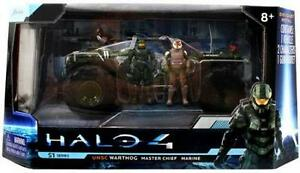 Halo 4 S-1 Series UNSC Warthog with Master Chief & Marine