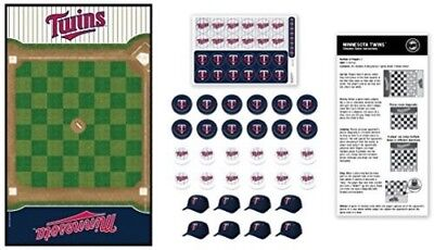 MasterPieces Minnesota Twins Checkers