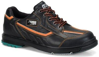 Storm Mens SP3 Black/Orange Right/left Handed bowling shoes size 10.5 new in box