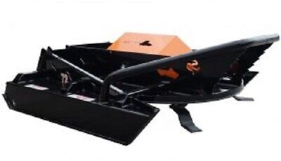 72 Open Front Sf Industrial Brush Cutter Mower Skid Steer Loader Attachment Cat