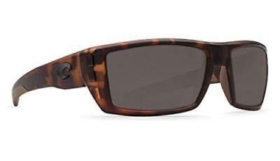 980bf7f877c73 Costa Del Mar Rafael Polarized Sunglasses 580G Glass Matte Retro  Tortoise Gray