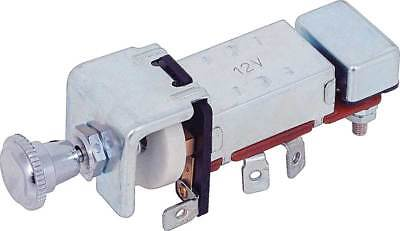 Universal Headlight Switch w/ Dash Light Dimmer 12 Volt  30 Amp  ()