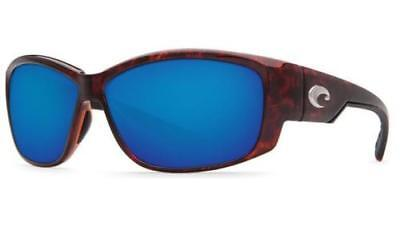 159ed9c96ccc New Costa del Mar Luke Bryan Polarized Sunglasses Tortoise Blue Mirror 580G  Fish