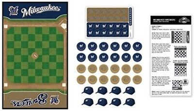 MasterPieces Milwaukee Brewers Checkers