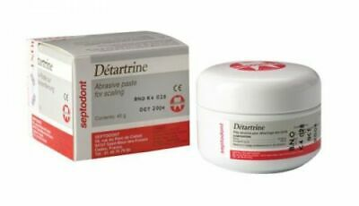 Septodont Detartrine 45g Paste For Scaling Polishing Teeth Dental