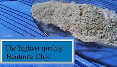 2.5 pounds 100% PURE BENTONITE CLAY. Only the finest quality clay on earth