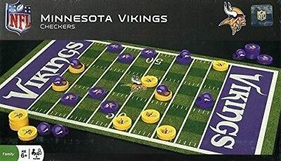 MasterPieces Minnesota Vikings Checkers