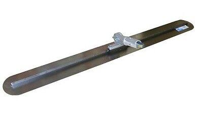 Kraft Tool Concrete Fresno Trowel Round Ends 36 X 5 Wbutton Handle Bracket
