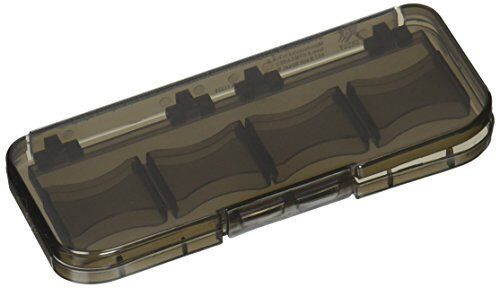 Xit XTMCASE2 8 Piece SD/SDHC Memory Card Hard Plastic Case (Black)