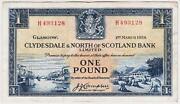 Bank of Scotland Pound Note