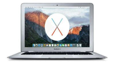 Apple MacBook Air Laptop Fast Intel i5 CPU w/ 4GB DDR3 and 128GB SSD MD711LL/B