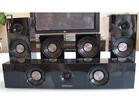 Samsung Home cinema 5.1 Sub HT-C5500 Blu-Ray. Smart apps + 12 blu-ray Films £80