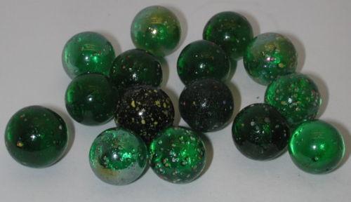 Vintage Speckled Marbles Ebay