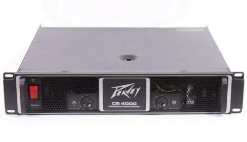 peavey cs power amp ebay. Black Bedroom Furniture Sets. Home Design Ideas