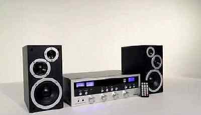 NEW Wireless CD Stereo System Bluetooth Home Speaker Innovative Technology MP3