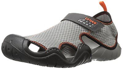 crocs Crocs Mens Swiftwater Flat Sandal- Select SZ/Color.