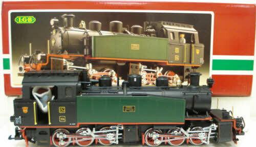 LGB 2085D 0-6-6-0 Mallet Steam Locomotive LN/Box