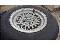"BMW 14"" BBS Mahle E3/E9/E12/E28 Original Alloy Wheels"