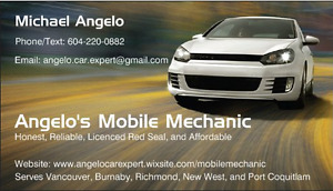 Honest, Affordable and License Mobile Mechanic