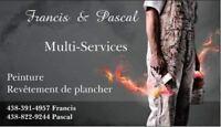 Plancher & peinture