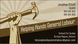 Attention Realtors! Helping Hands General Labour Can Help you!