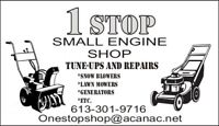 Snow Blower Tune Ups and Repairs