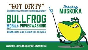 Mobile Power Washing Business