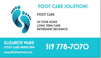 ADVANCED FOOT CARE -in your home
