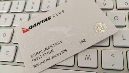 Wanted 1 x Qantas Club 2018