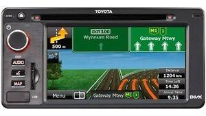 Genuine Toyota navigation system as new plug and play Parramatta Parramatta Area Preview