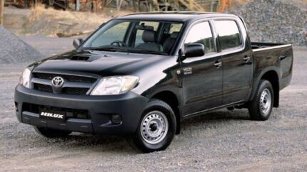 WANTED TOYOTA HILUX 2005 DUAL CAB HILUX  Woodroffe Palmerston Area Preview
