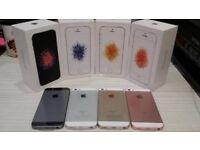 IphoneSE 64GB UNLOCKED BRAND NEW CONDITION & warranty