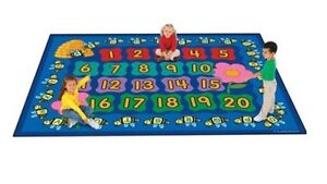 Learning carpet tapis  school ecole garderie daycare