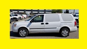 2008 CHEV UPLANDER CARGO VAN  COMES WITH FULL SAFETY INSPECTION