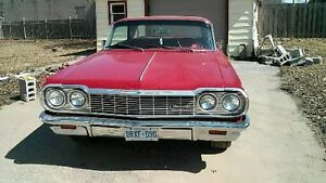all numbers matching 1964 impala red on red